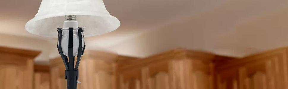 Buyplus light bulb changer pole
