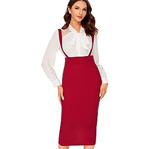 women bodycon pencil skirt