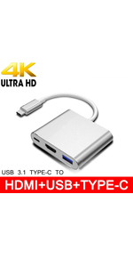 USB-C to HUB HDMI Adapter