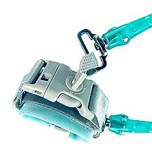 maclaren clip exterieur acier lesse panier des poignée ski bandeau tenir sangl triple magique