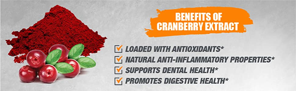 cranberry extract, cranberry extract powder, cranberry extract for dogs