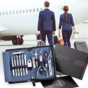 manicure set travel
