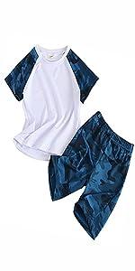 Conjunto de pantalones cortos para niño