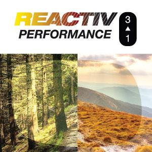 Julbo REACTIV Performance Photochromic Lens simulator