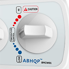 Cold and hot water temperature control