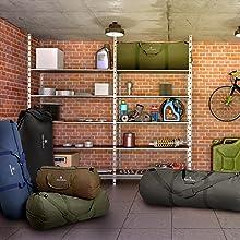 garage storage organize basement