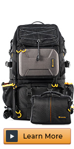 camera backpack extra large