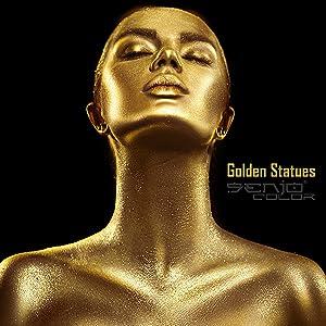 golden body-painting senjo-color statue