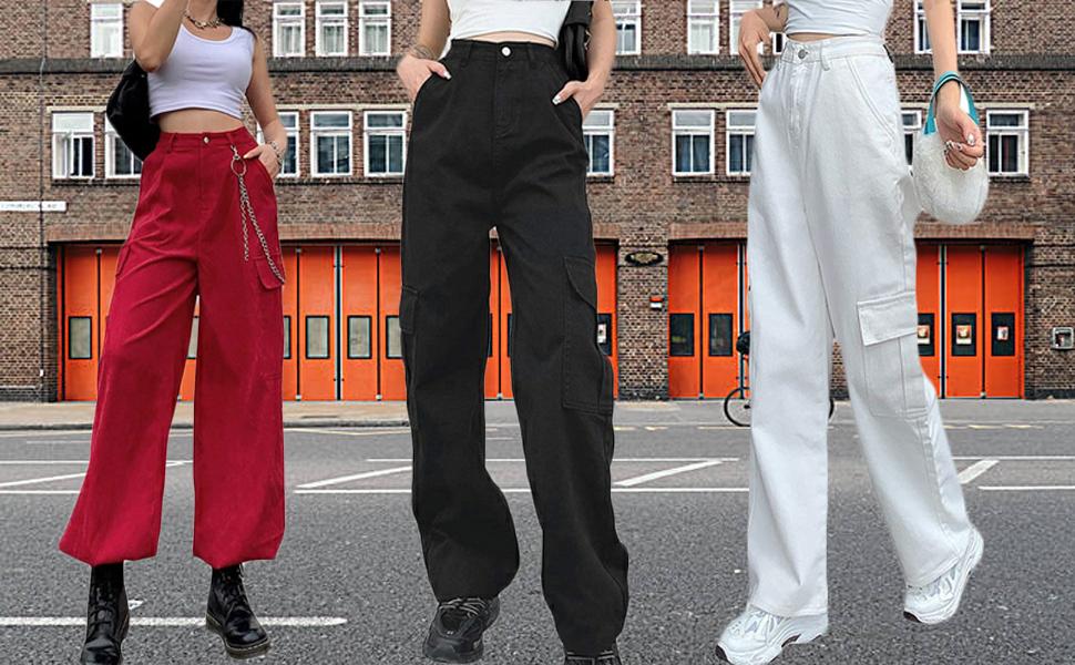 Handmade  Women/'s High Waist Long PantsWomen/'s Long PantsWide Leg Long PantsElegant High Waist long Pants Pink and Apricot