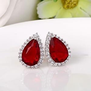 black Earrings for Women, Prom