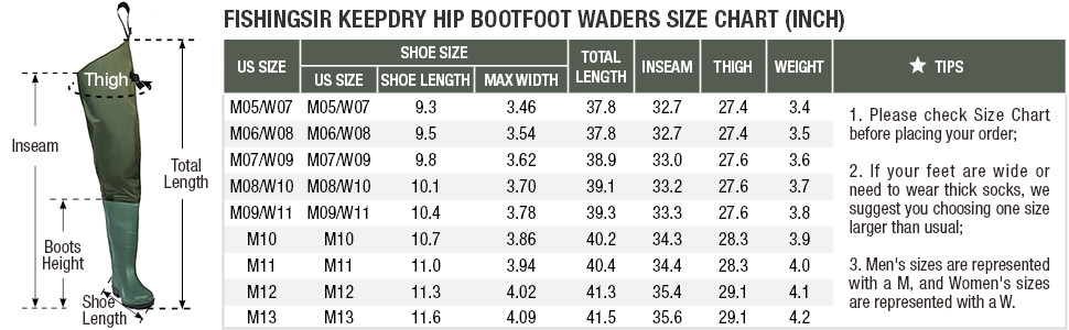 hip waders for men with boots