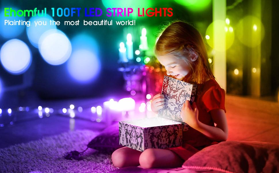 LED STRIP LIGHTS 100 feet-BEAUTY YOUR LIFE