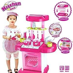 kitchen set for girls, kitchen set for kids girls, kitchen set, jvm kitchen set, big kitchen set
