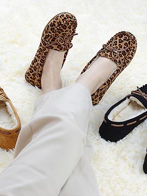 Vonoir Womens Moccasins Slippers