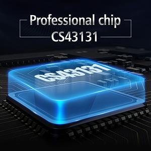 Professional chip CS43131