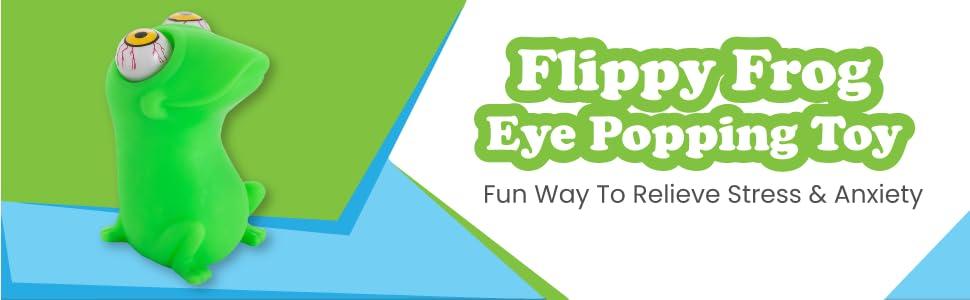 Eye Popping Flippy Frog