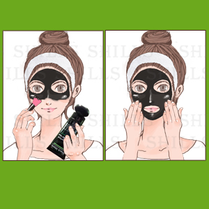 Apply Thin Thick Layer Face Mask