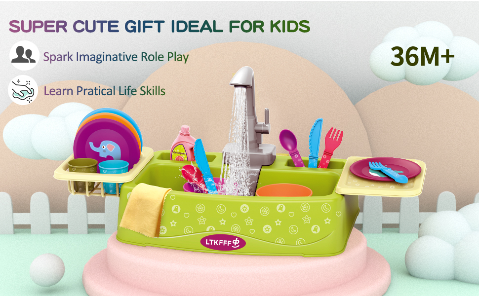 play kitchen toys for kids boys girls aged 3 4 5 6 8 year old