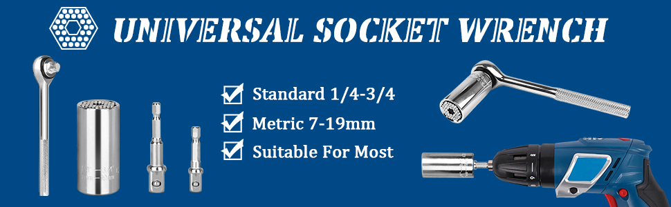 Universal Socket Tool Gift for Men