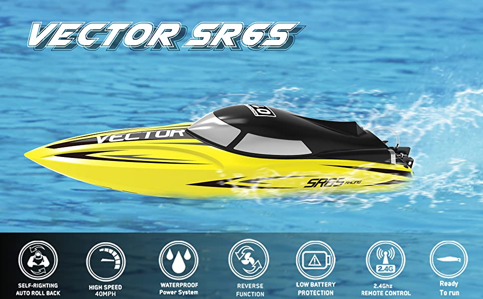 high speed brushless rc boat racing remote control boat brushless motor