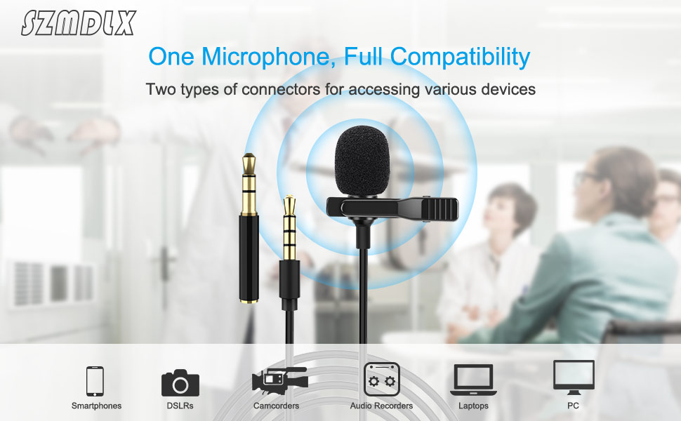 Lavalier Microphone Smartphone microphone Condenser microphone
