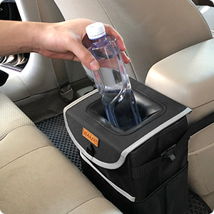 YOOFAN Car Trash Can with lid
