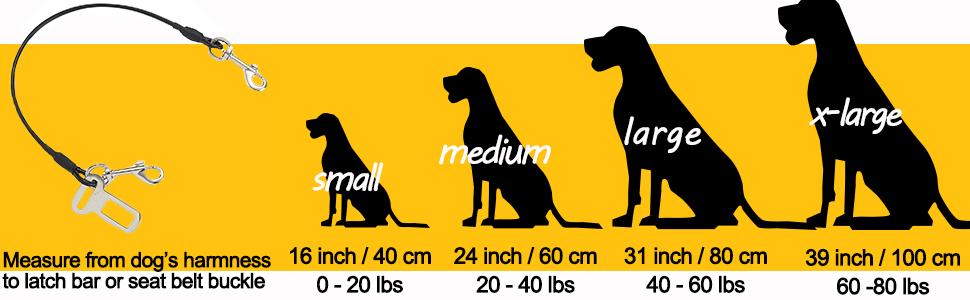Car Pet Dog Cat Seat Safety Belt Latch Buckle No-Chew Leash Restraint 1