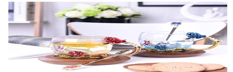 coffee mugs and teacups,glass mugs,gifts for woman,wedding,christmas gifts for wife,sister