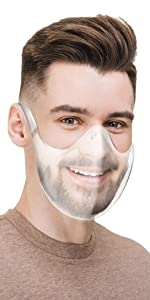 Durable Transparent Face Protection Clear Face_Shield