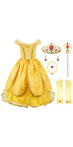Princess Costume Deluxe Party Fancy Dress