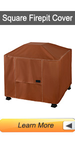 Square Fire Pit Cover