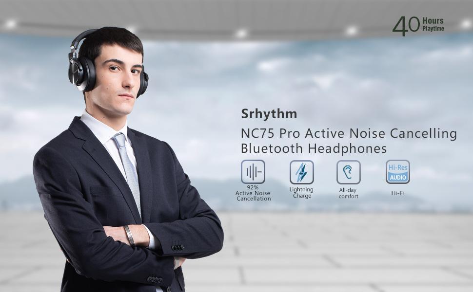 NC75 wireless headphones