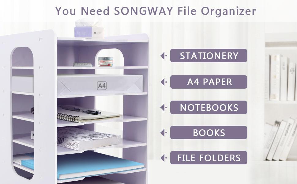 File Organizer for Desk