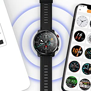 smart watch Compatible with iPhone