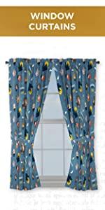 Window Curtain Drapes