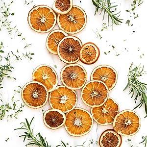 oranges déshydratées avec le BioChef Arizona Sol
