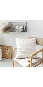 White Fluffy Cushion Cover