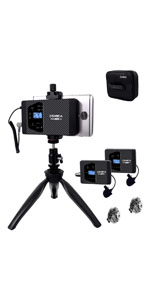 Comica CVM-VS10 XY Estéreo cardioide Micrófono Condensador Video ...
