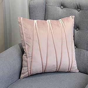 light purple pillow cover