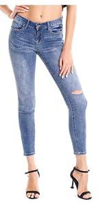 Summer Low Waist Jeans