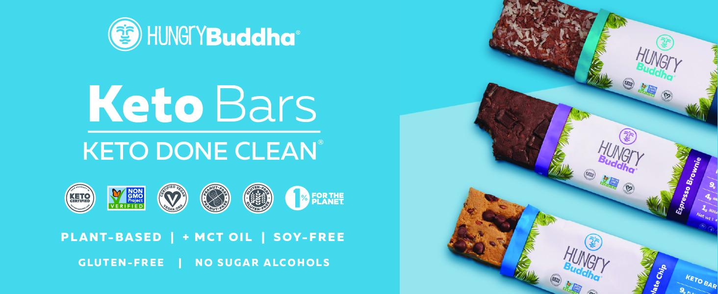 hungry buddha keto bars