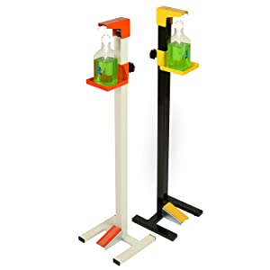 sanitizer dispenser stand foot operated