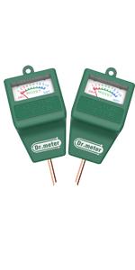 Plantas de c/ésped en Interiores y Exteriores Granja Dr.meter Medidor de Suelo Sensor de Humedad higr/ómetro para jard/ín no Necesita bater/ía
