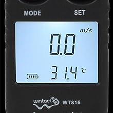 anemometer handheld air meter