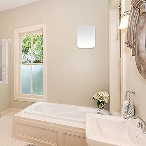 Hanging Make Up Mirror  Bathroom for Shower Shaving
