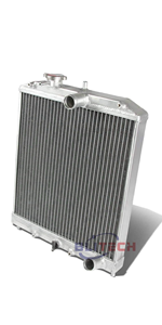 "NEW 3 ROW ALL ALUMINUM RADIATOR W// 16/"" FAN 49 50 51 52 53 54 CHEVY CAR V8 ONLY"