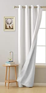 3 Pass Energy Efficient Thermal Insulated Coating Curtains