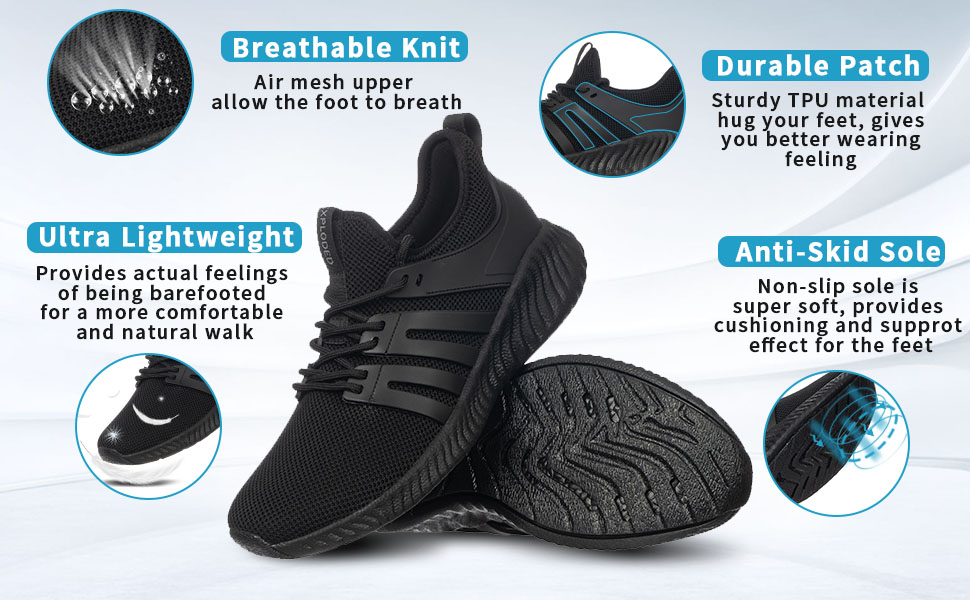 KPP mens running shoes Features