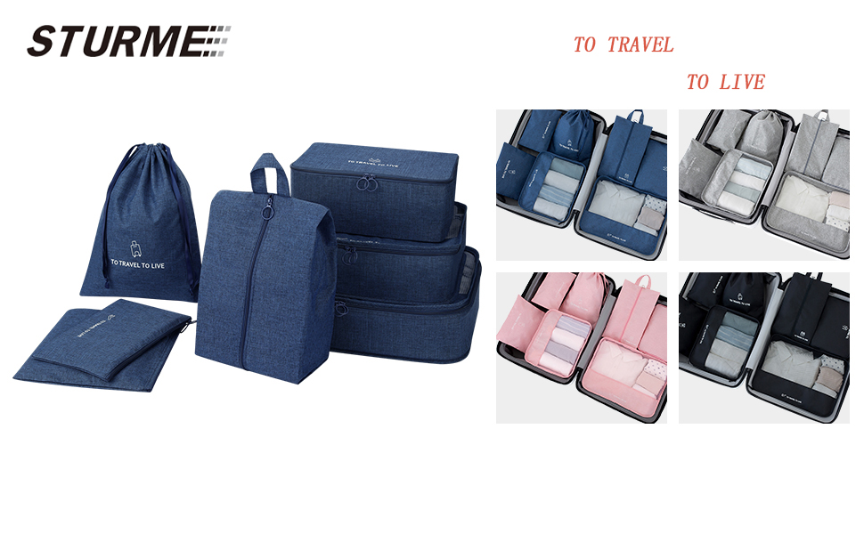 Travel laggage organizer