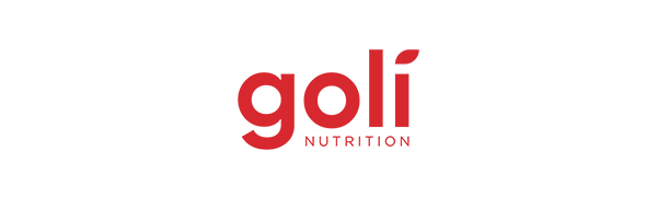 Goli Nutrition Logo red on white background
